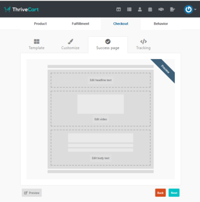 create-a-success-page-in-ThriveCart