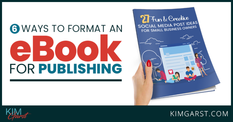 A step by step guide to formatting an ebook in a Microsoft Word document