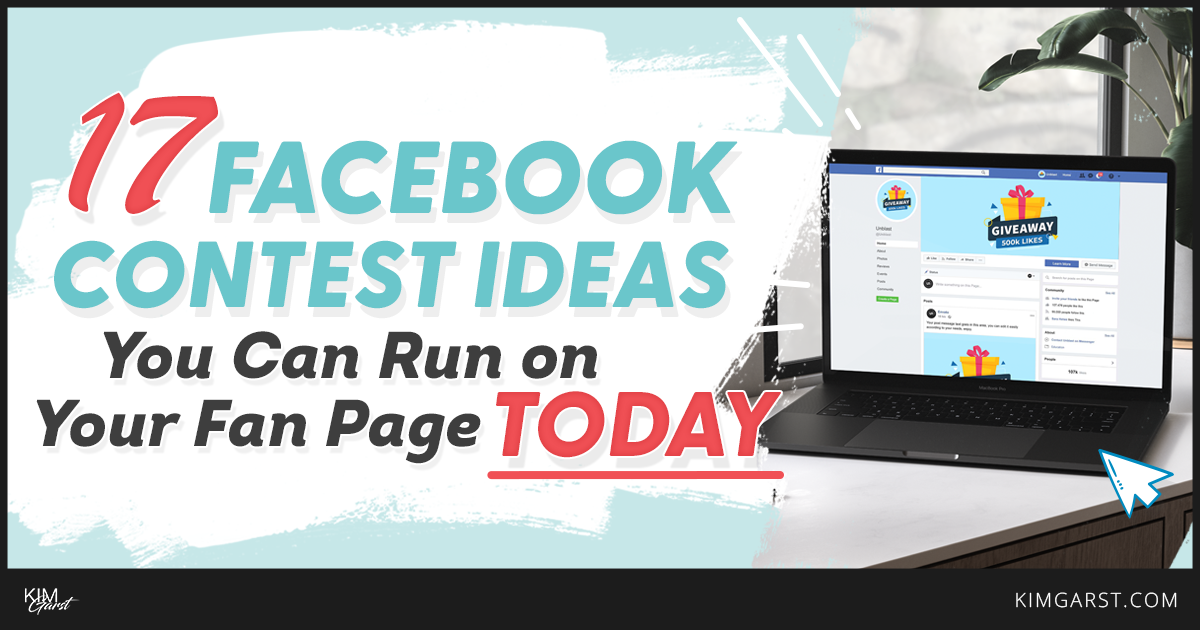 Facebook Contest Ideas You Can Run on Your Fan Page TODAY