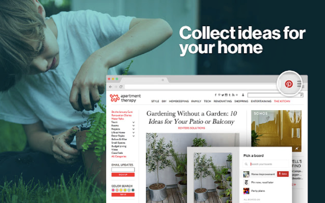 Pinterest's Browser Extensions