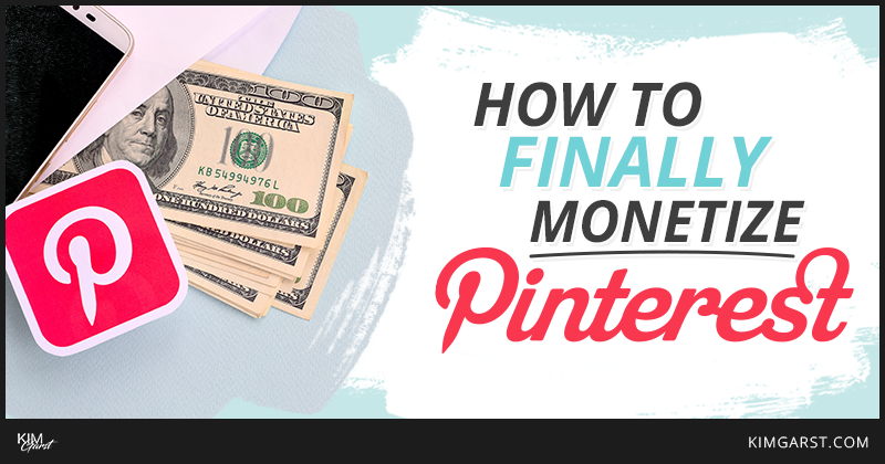 monetize your pinterest