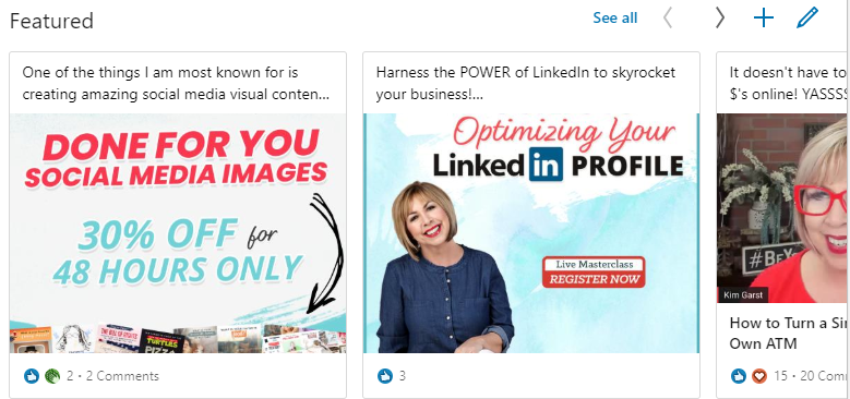 linkedin-featured-section