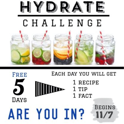 5 day hydrate challenge