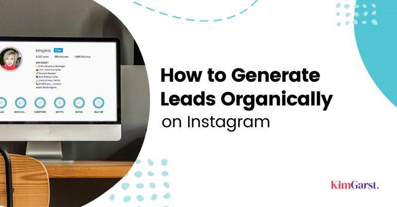 generate leads on instagram