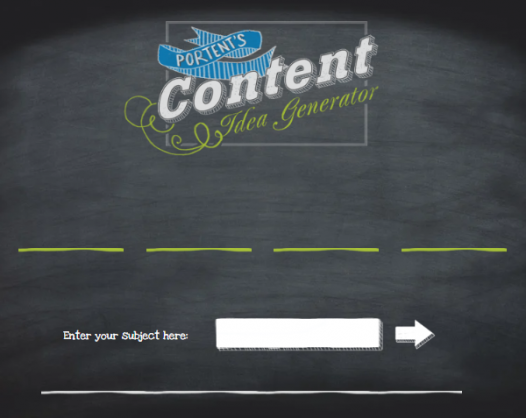 generate-content-ideas-portent-generator